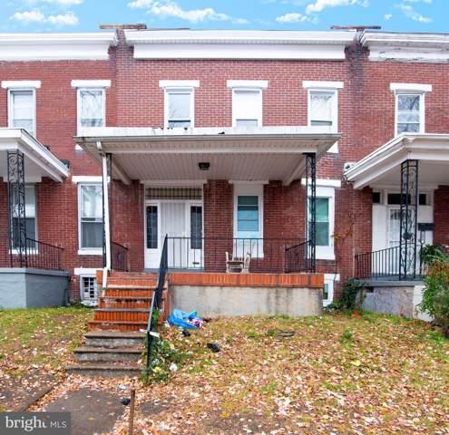 1604 N Pulaski Street, BALTIMORE, MD 21217 (#MDBA493058) :: Dart Homes