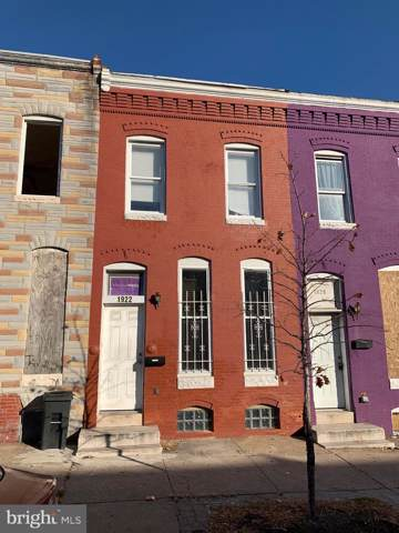 1922 Walbrook Avenue, BALTIMORE, MD 21217 (#MDBA493222) :: Dart Homes