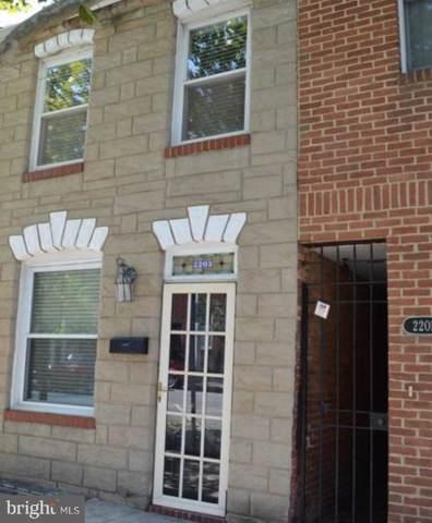 2203 Essex Street, BALTIMORE, MD 21231 (#MDBA493264) :: Revol Real Estate