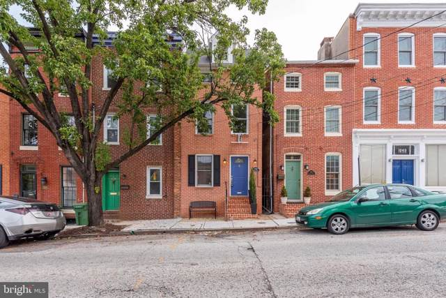 1039 William Street, BALTIMORE, MD 21230 (#MDBA493312) :: The Speicher Group of Long & Foster Real Estate