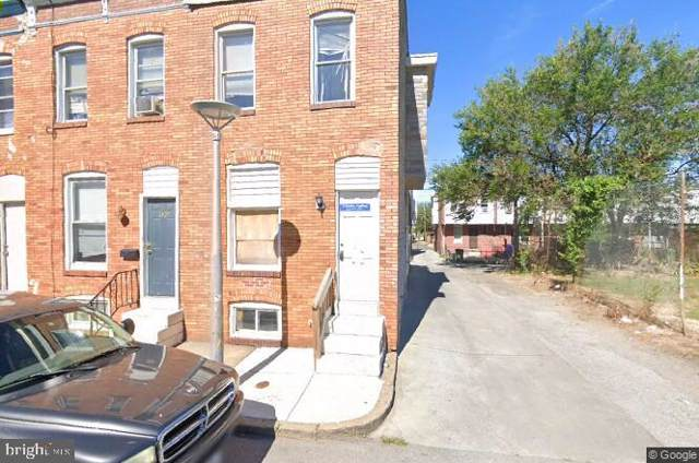 822 N Curley Street, BALTIMORE, MD 21205 (#MDBA493336) :: Radiant Home Group