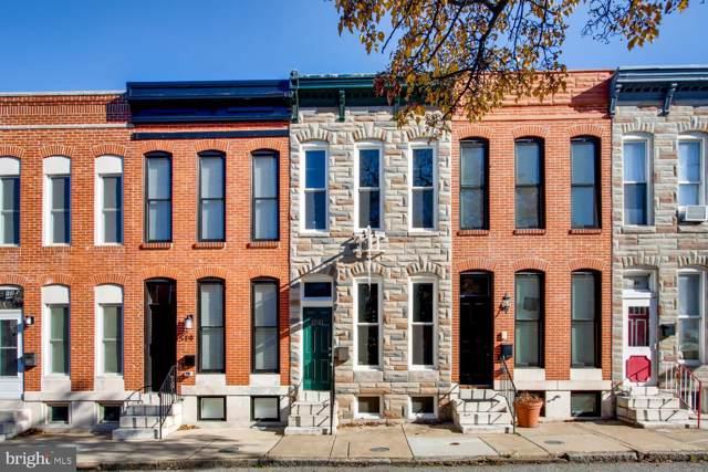 1521 Marshall Street, BALTIMORE, MD 21230 (#MDBA493530) :: The Speicher Group of Long & Foster Real Estate