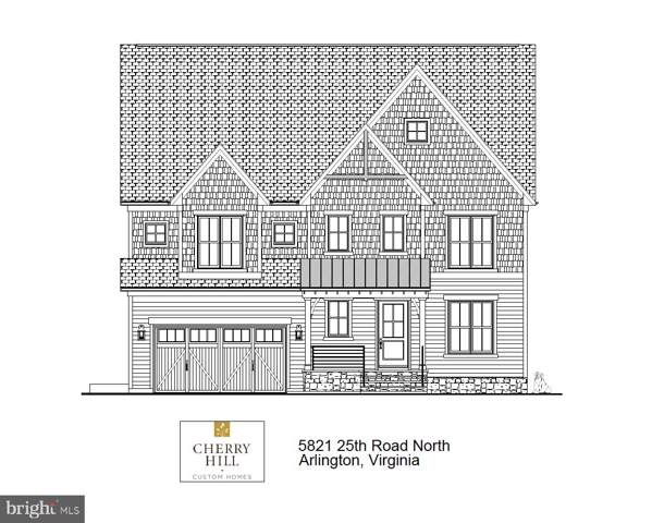 5821 25TH Road N, ARLINGTON, VA 22207 (#VAAR157362) :: Network Realty Group