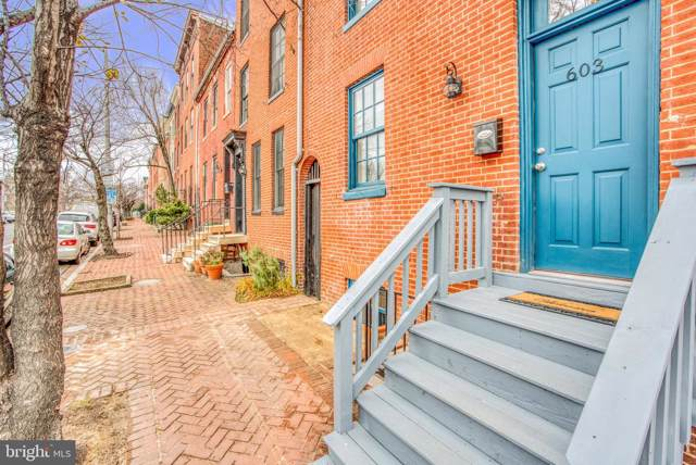 603 N Paca Street, BALTIMORE, MD 21201 (#MDBA493826) :: Bob Lucido Team of Keller Williams Integrity