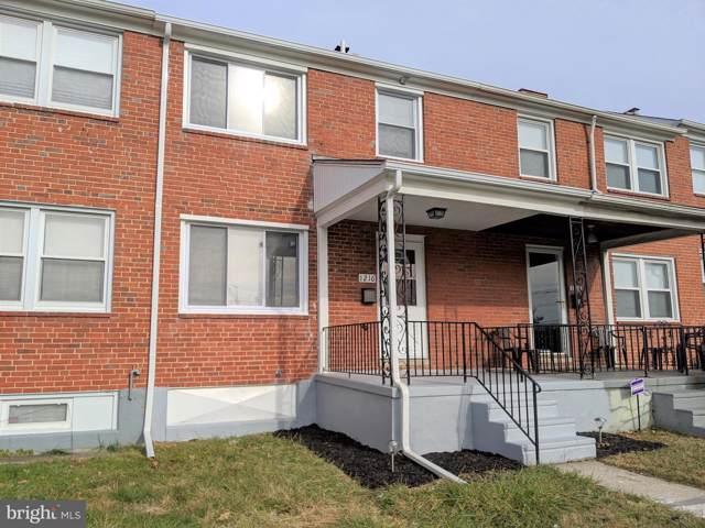 1216 E Cold Spring Lane, BALTIMORE, MD 21239 (#MDBA493940) :: AJ Team Realty