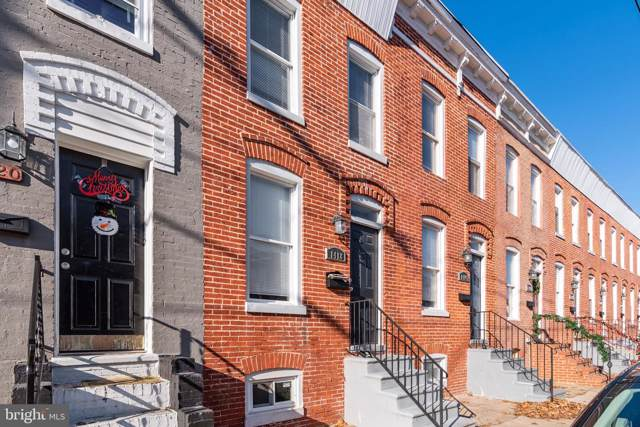 1416 Ward Street, BALTIMORE, MD 21230 (#MDBA493944) :: The Vashist Group