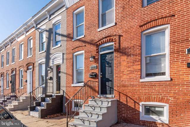 1418 Ward Street, BALTIMORE, MD 21230 (#MDBA493946) :: The Vashist Group