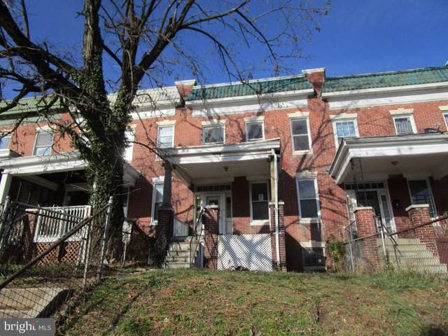 3726 Edmondson Avenue, BALTIMORE, MD 21229 (#MDBA494156) :: Seleme Homes