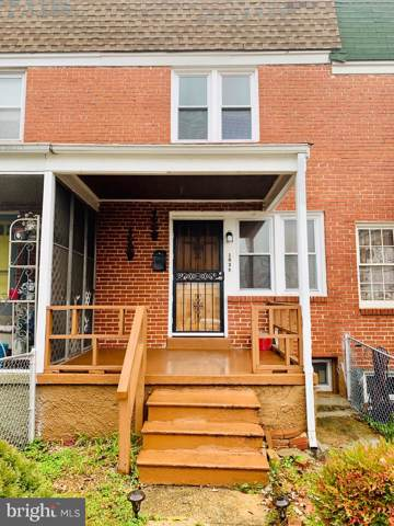 1034 N Iris Avenue, BALTIMORE, MD 21205 (#MDBA494262) :: The Kenita Tang Team