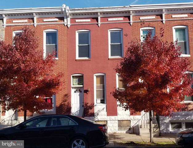 415 N Patterson Park Avenue, BALTIMORE, MD 21231 (#MDBA494282) :: The Miller Team