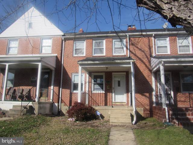 1318 E Stonewood Road SW, BALTIMORE, MD 21239 (#MDBA494448) :: Radiant Home Group
