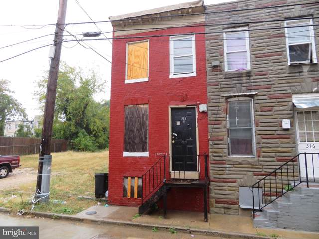 318 S Norris Street, BALTIMORE, MD 21223 (#MDBA494456) :: AJ Team Realty