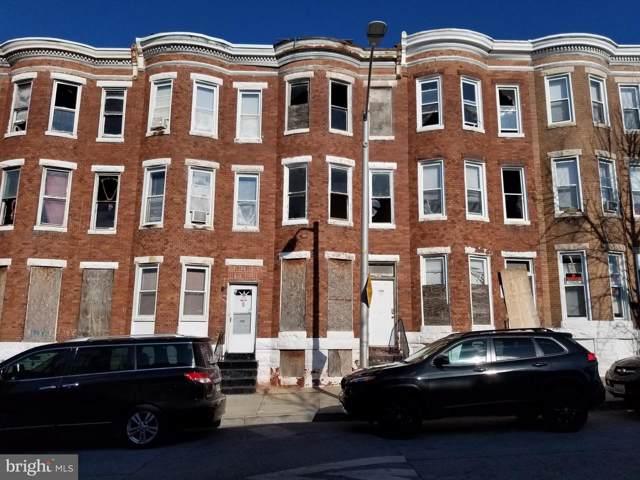 1908 Mosher Street, BALTIMORE, MD 21217 (#MDBA494560) :: The Vashist Group
