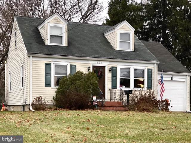 609 Concord Circle, EWING, NJ 08618 (#NJME289398) :: Viva the Life Properties