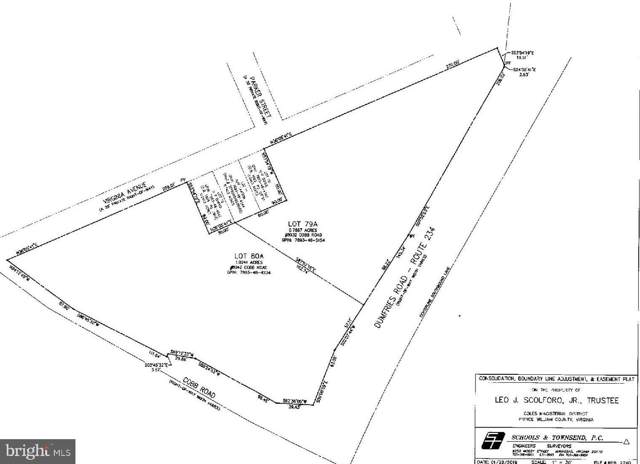 LOT 79A Dumfries Road, MANASSAS, VA 20112 (#VAPW484356) :: ExecuHome Realty