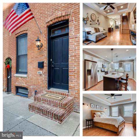 220 E Barney Street, BALTIMORE, MD 21230 (#MDBA494804) :: Seleme Homes
