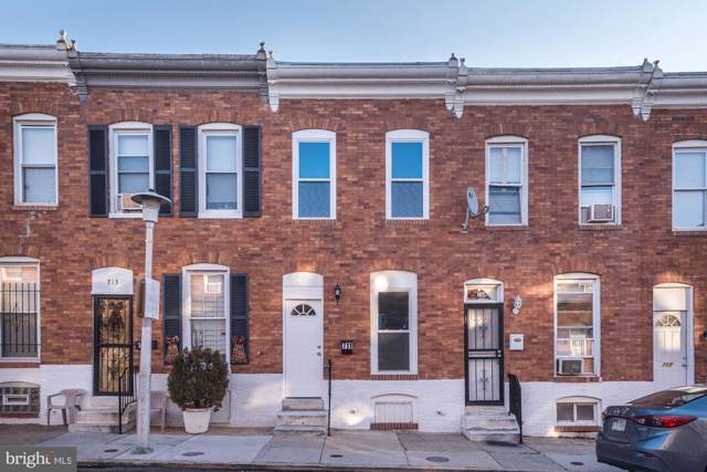 711 N Glover Street, BALTIMORE, MD 21205 (#MDBA494882) :: Homes to Heart Group
