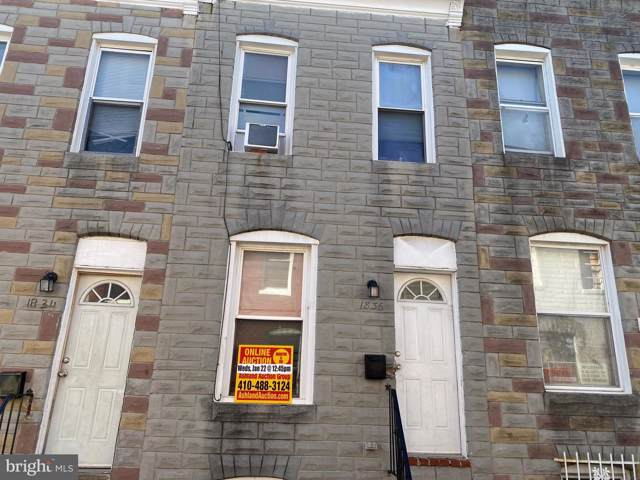 1836 N Chapel Street, BALTIMORE, MD 21213 (#MDBA495050) :: Corner House Realty