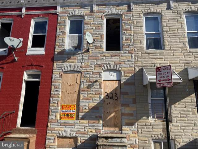 323 Furrow Street, BALTIMORE, MD 21223 (#MDBA495062) :: The Maryland Group of Long & Foster