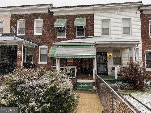 41 S Morley Street, BALTIMORE, MD 21229 (#MDBA495066) :: Homes to Heart Group