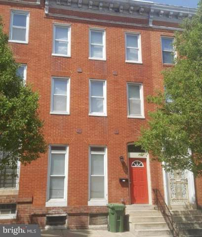 1702 W Lombard Street, BALTIMORE, MD 21223 (#MDBA495082) :: The Maryland Group of Long & Foster