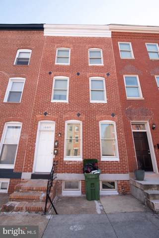 1305 W Lombard Street, BALTIMORE, MD 21223 (#MDBA495266) :: Bic DeCaro & Associates