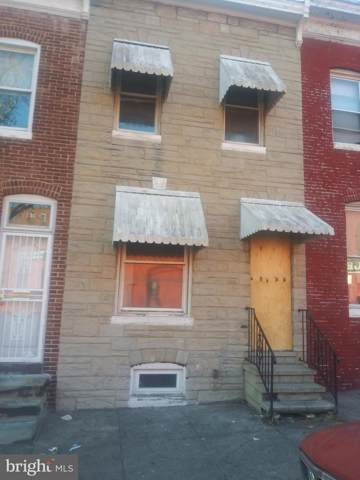 210 S Smallwood Street, BALTIMORE, MD 21223 (#MDBA495306) :: The Maryland Group of Long & Foster