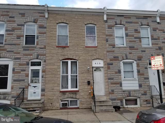 415 S Bentalou Street, BALTIMORE, MD 21223 (#MDBA495414) :: The Maryland Group of Long & Foster