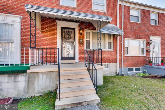 1145 Sherwood Avenue, BALTIMORE, MD 21239 (#MDBA495638) :: The Licata Group/Keller Williams Realty