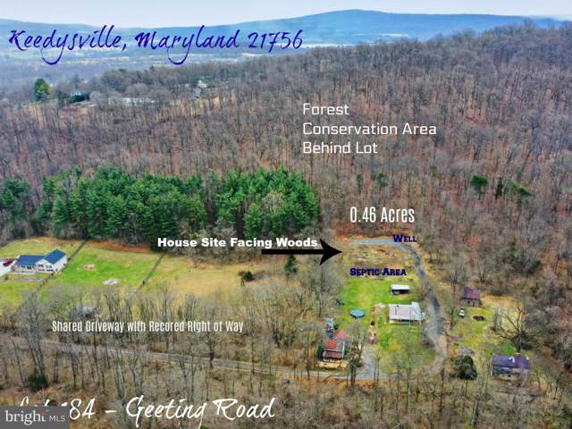 LOT 184 Geeting Road, KEEDYSVILLE, MD 21756 (#MDWA169864) :: Sunita Bali Team at Re/Max Town Center
