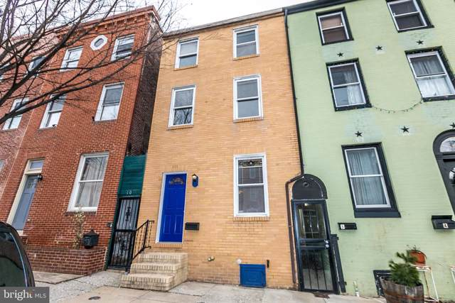 111 S Washington Street, BALTIMORE, MD 21231 (#MDBA495982) :: The Miller Team