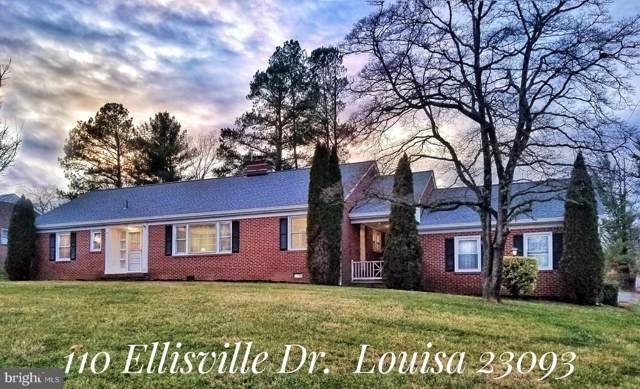 110 Ellisville Drive, LOUISA, VA 23093 (#VALA120366) :: Sunita Bali Team at Re/Max Town Center
