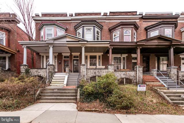 309 E 33RD Street, BALTIMORE, MD 21218 (#MDBA496130) :: Seleme Homes