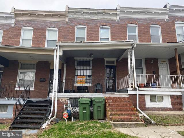 606 Denison Street, BALTIMORE, MD 21229 (#MDBA496312) :: Homes to Heart Group