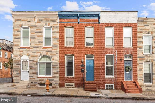 420 E Clement Street, BALTIMORE, MD 21230 (#MDBA496468) :: Corner House Realty