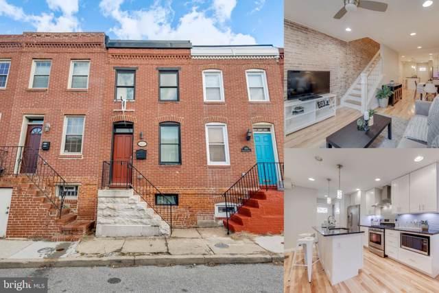 1607 Marshall Street, BALTIMORE, MD 21230 (#MDBA496524) :: Corner House Realty
