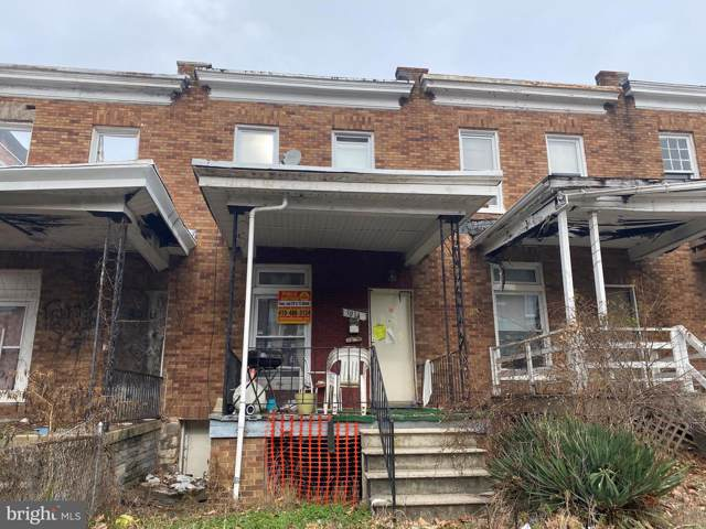 3014 Rayner Avenue, BALTIMORE, MD 21216 (#MDBA496822) :: The Vashist Group