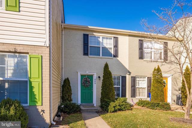 509 Lancaster Place, FREDERICK, MD 21703 (#MDFR258536) :: The Miller Team