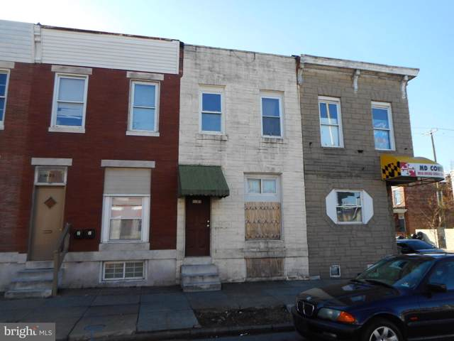 3103 E Monument Street, BALTIMORE, MD 21205 (#MDBA496930) :: The Vashist Group