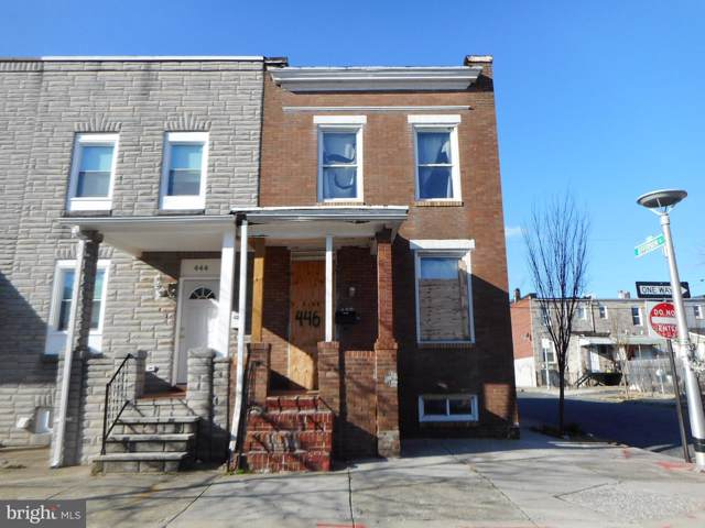 446 N Bouldin Street, BALTIMORE, MD 21224 (#MDBA496934) :: The Vashist Group