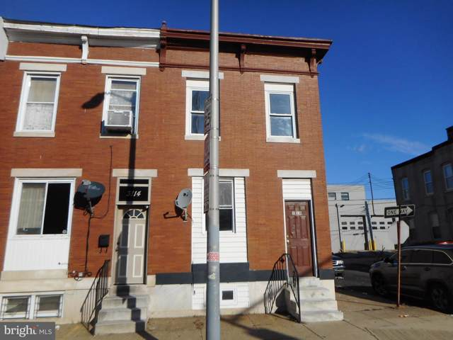 3116 E Monument Street, BALTIMORE, MD 21205 (#MDBA496936) :: The Vashist Group