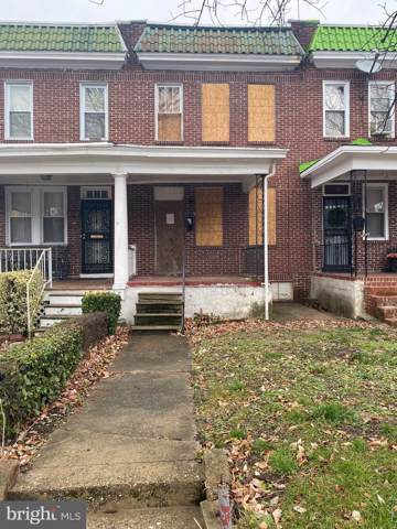 2750 Baker Street, BALTIMORE, MD 21216 (#MDBA497134) :: Corner House Realty