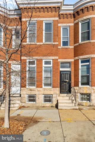1906 W Lanvale Street, BALTIMORE, MD 21217 (#MDBA497244) :: The Vashist Group