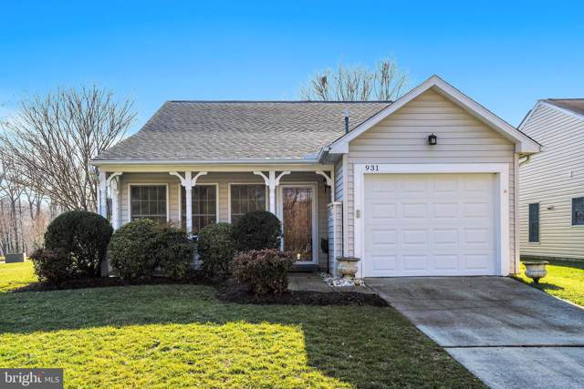 931 Topmast Way, ANNAPOLIS, MD 21401 (#MDAA423050) :: The Riffle Group of Keller Williams Select Realtors