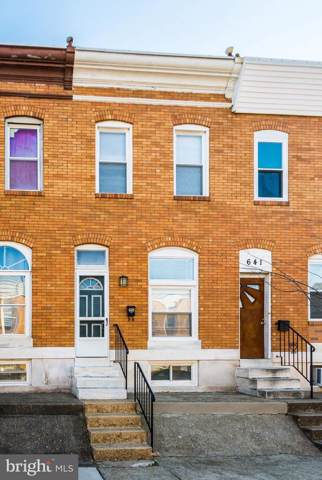 639 S Macon Street, BALTIMORE, MD 21224 (#MDBA497358) :: The MD Home Team