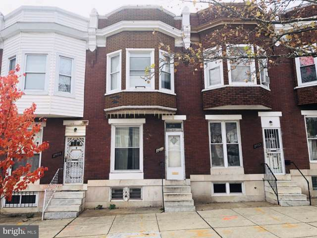 2711 Edmondson Avenue, BALTIMORE, MD 21223 (#MDBA497378) :: Revol Real Estate