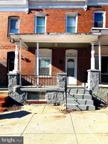1414 N Milton Avenue, BALTIMORE, MD 21213 (#MDBA497450) :: Corner House Realty