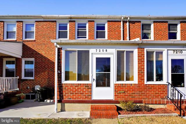 7208 Bridgewood Drive, BALTIMORE, MD 21224 (#MDBC482864) :: The Bob & Ronna Group