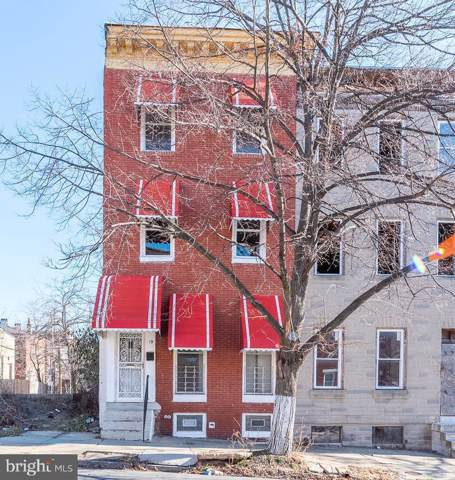 19 N Stricker Street, BALTIMORE, MD 21223 (#MDBA497506) :: The Maryland Group of Long & Foster