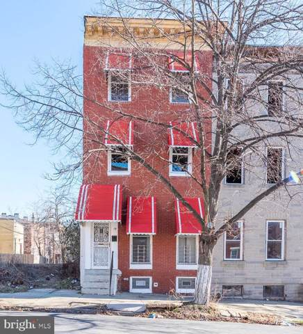 19 N Stricker Street, BALTIMORE, MD 21223 (#MDBA497512) :: The Maryland Group of Long & Foster